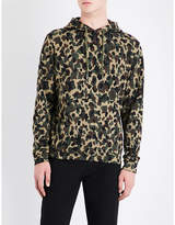 Sandro Camouflage-print cotton-jersey hoody