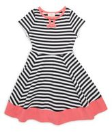 Kate Spade Little Girl's Fit-&-Flare Striped Dress
