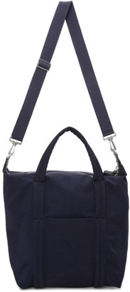 Maison Margiela Navy Shopper Tote