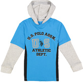U.S. Polo Assn. Teal Blue 'US Athletic Dept.' Hoodie - Boys