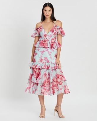 Alice McCall Flamingo Midi Dress