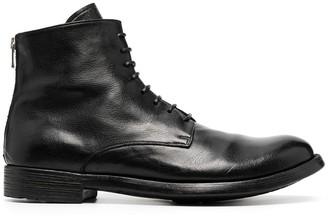 Officine Creative Hive lace-up ankle boots