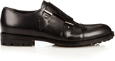 Balenciaga Leather monk-strap shoes