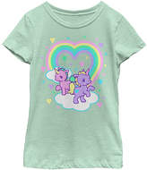 Fifth Sun Mint Baby Unicorn Tee - Girls
