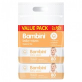 Bambini Baby Wipes Value Pack 240 wipes