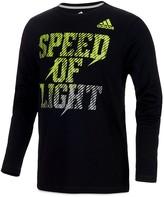 adidas Boys' Speed of Light Long-Sleeve Tee