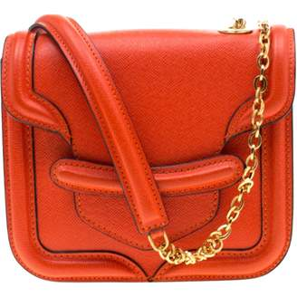 Alexander McQueen Heroine Chain Red Leather Handbags
