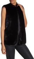T Tahari Emilia Faux Fur Vest
