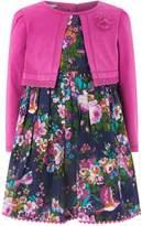 Monsoon Baby Floralina Print 2 In 1 Dress