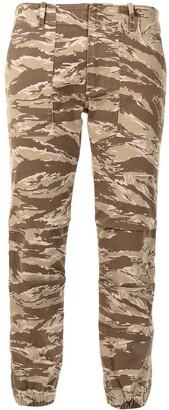 Nili Lotan Camo Slim-Fit Trousers