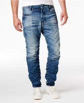 G Star Men's Staq 3D Cotton Slim-Fit Tapered Jeans