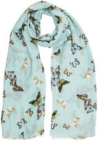 Oasis Butterfly Print Scarf