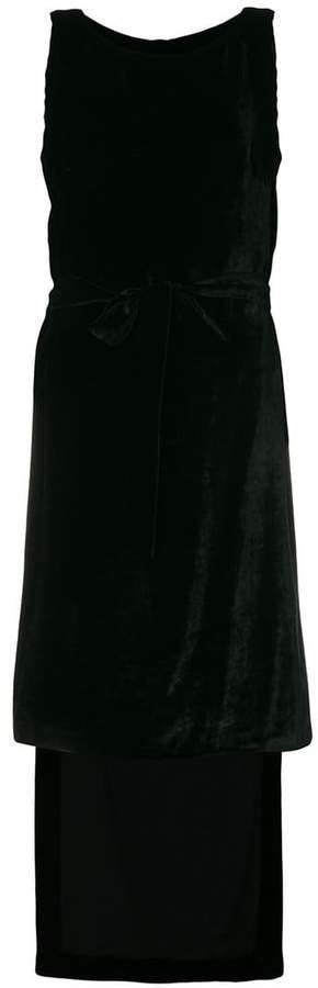 Gareth Pugh drop back dress