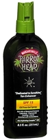 "Margaritaville Parrot Head ""Dedicated to Sunshine"" Natural Tan Enhancer, SPF 15"