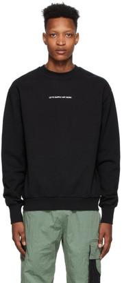 Liam Hodges Black Supply Artwork Sweatshirt