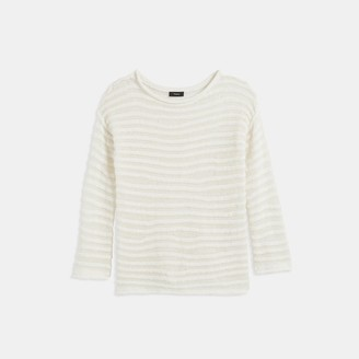 Theory Linked Stripe Pullover