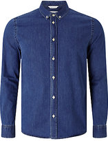 Samsoe & Samsoe Liam Cx Denim Shirt, Medium Blue