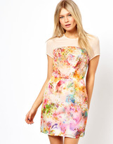 Love Shift Dress In Floral Print