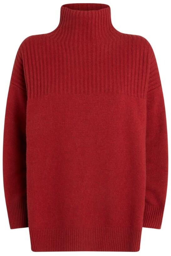 Claudie Pierlot Oversized High-Neck Sweater