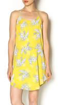 Honey Punch Floral Halter Dress