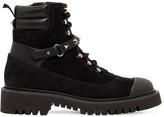 Valentino Garavani 20mm Rockstud Suede Combat Boots