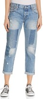 Levi's 501® Boyfriend Jeans in Stacked Patch