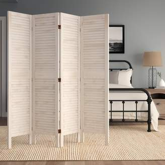 Beachcrest Home Kathlene 4 Panel Room Divider