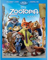 Disney Zootopia Blu-ray Combo Pack