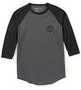 O'Neill Dialogue Raglan 3/4 Sleeve Shirt