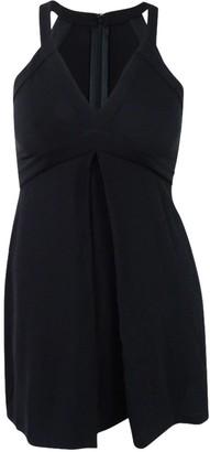 BCBGeneration Women's V-Neck Dress with Pleats