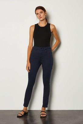 Karen Millen Skinny Cotton Regular Jean