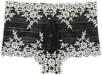 Wacoal Embrace Lace Black Briefs