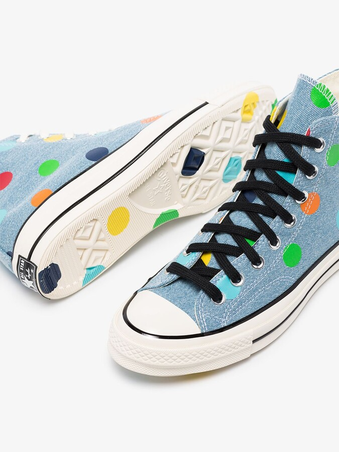 Thumbnail for your product : Converse Blue X Tyler The Creator Chuck 70 Sneakers