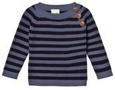 FUB Denim/Navy Baby Sweater