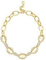 Louise et Cie Pave Set Link Necklace
