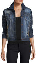 Berek Blues Temptation Lace & Denim Jacket