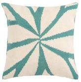 "Surya Woven Exploded Geometric Toss Pillow - 18x18"""