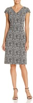 Betsey Johnson Abstract Print Sheath Dress