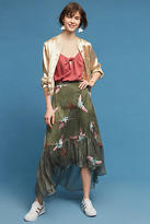 Eva Franco Oiseau Embroidered Skirt