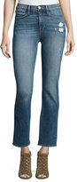 Frame Le High Straight-Leg Jeans, Sunny Gardens