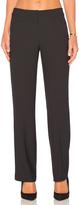 Bobi BLACK Woven Crepe Pants