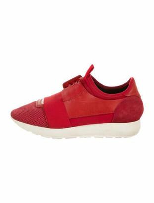 Balenciaga Race Runner Sneakers Red