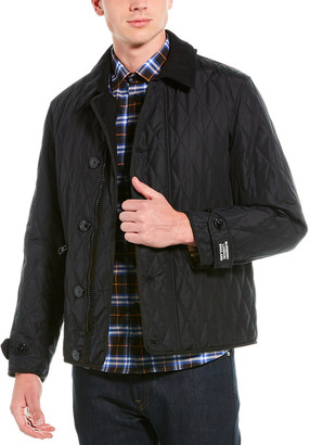 Burberry Atkinson Diamond Quilted Jacket