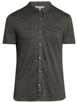 John Varvatos Lightweight Linen-jersey Polo Shirt