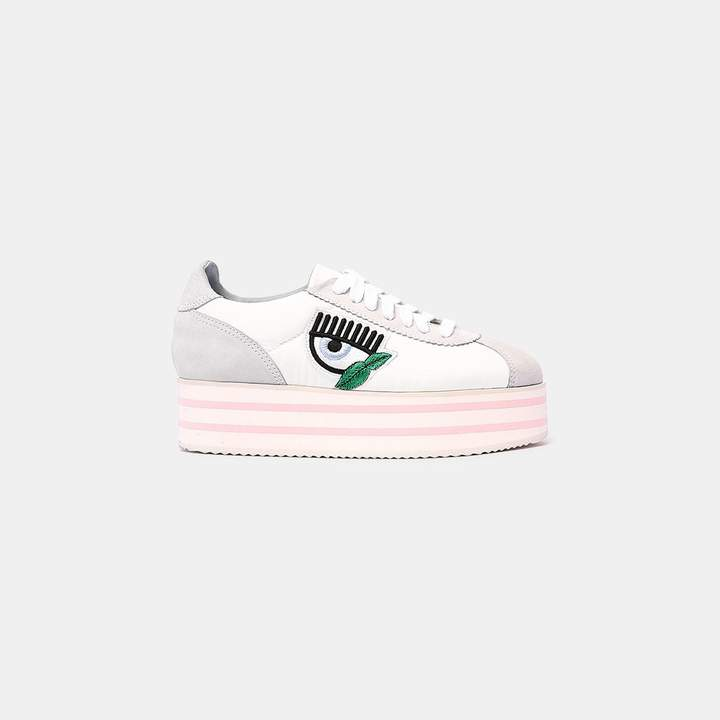 Chiara Ferragni Platform Leather Sneaker