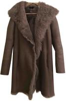 Joseph Grey Shearling Coats