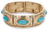Expression Aztec Navette Strone Cuffs
