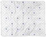 "Deny Designs Lara Kulpa Dreamy Classic Blue Woven Throw Blanket - 60"" x 50"""