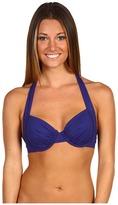 Tommy Bahama - Pearl Underwire Halter Bikini Top (Galaxy Blue) - Apparel