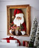 Karen Didion Originals Red Vintage Santa Shadowbox